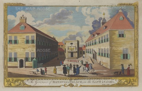 Batavia (Jakarta). The Governor's Palace.