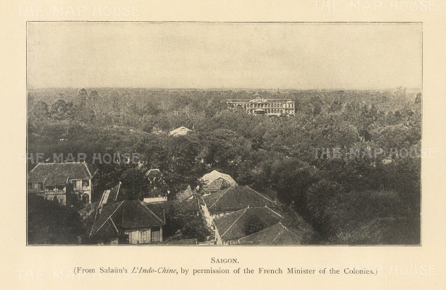 "Clifford: Ho Chi Minh, Vietnam. 1905. An original antique photolithograph. 6"" x 4"". [SEASp1657]"
