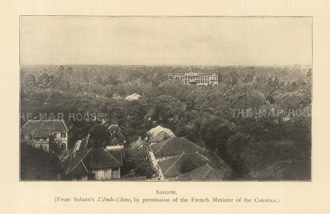 "Clifford: Ho Chi Minh, Vietnam. 1905. An original antique photolithograph. 6"" x 4"". [SEASp1657]"