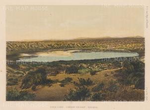 "US Geological Survey: Carson Desert, Nevada. 1878. An original colour antique lithograph. 9"" x7"". [USAp4659]"