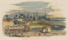 Manzilla Island: Aspinwall. US Mail Steam Ship Company's headquarters.