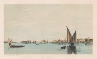Island of Er-Rhodah: Southern part of the Island with Masr El-Ateekah.