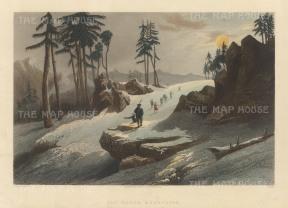Barog: Ascending the Choor Chandni peak.