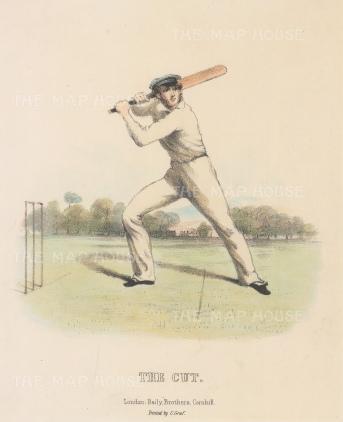 Rare: The Cut: For Felix on the Bat by Nicholas 'Felix' Wanostrocht.