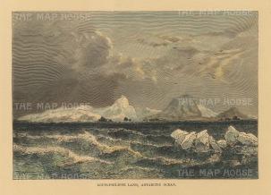 Antarctic Ocean: View of Louis-Philippe Plateau, Trinity Peninsula.