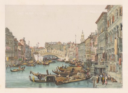 Ponte Rialto: From the Grand Canal.