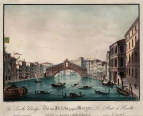 Rialto: Ponte di Rialto.View from the Grand Canal.