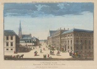 Lobkowitzplatz: With St Stephen's Cathedral and the Palace of Johann Wenzel. Count von Gallas, Duke of Lucera (Palais Dietrichstein-Lobkowitz).