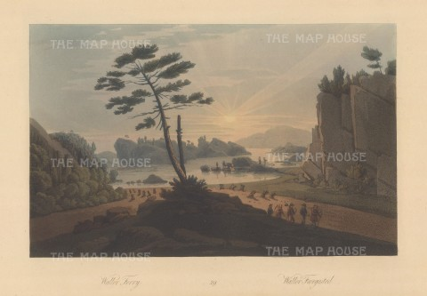 "Boydell: Waller, Norway. 1820. An original colour antique aquatint. 14"" x 10"". [SCANp89]"