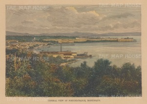 View of the harbour from the environs.