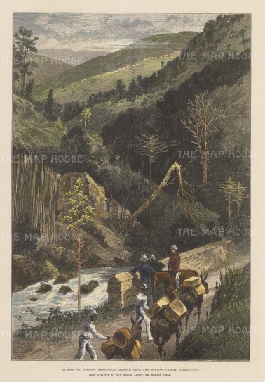 View from a hillside pass.