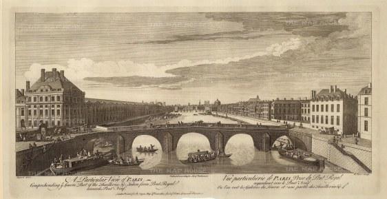 "Sayer: Paris. 1774. An original antique copper engraving. 18"" x 10"". [FRp1570]"