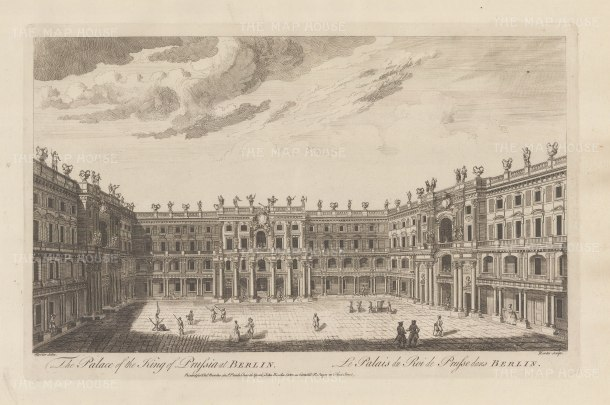 "Sayer: Berlin. 1774. An original antique copper engraving. 18"" x 12"". [GERp1240]"
