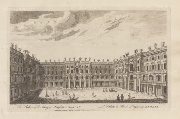 Palace of the King of Prussia at Berlin.