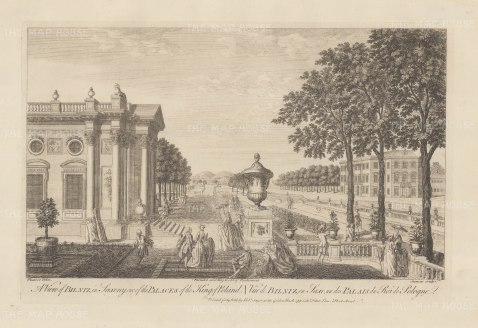 "Sayer: Bilniz. 1774. An original antique copper engraving. 18"" x 12"". [GERp1246]"