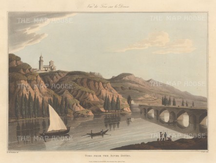 "Bradford: Toro. An original colour antique aquatint. 13"" x 9"". [PORp162]"