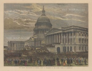 Second Inauguration of President Grant.