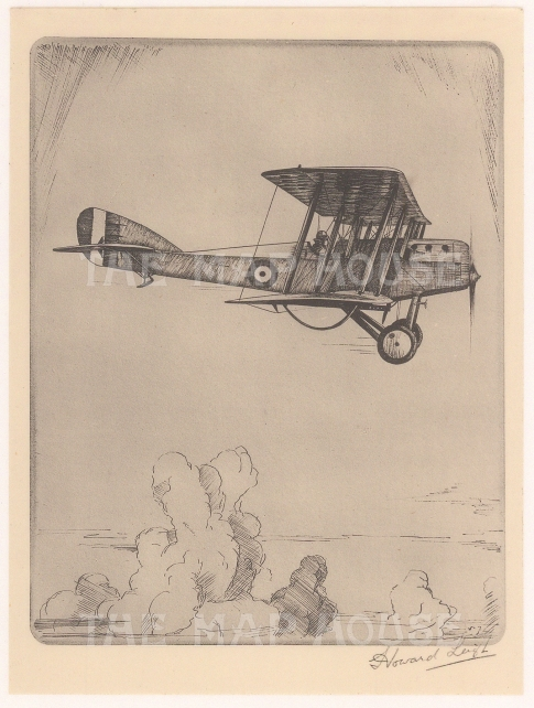 Martinsyde Elephant single seater fighter: Signed in pencil with text on verso.