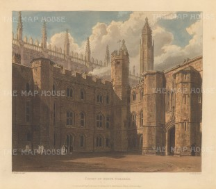 King's College: Court of the college founded in 1441.