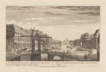"Sayer: Hague. 1774. An original antique copper engraving. 18"" x 12"". [NETHp180]"