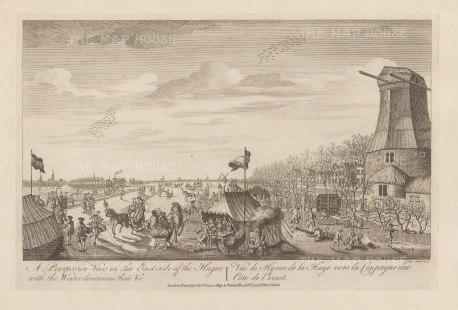 "Sayer: Hague. 1774. An original antique copper engraving. 18"" x 12"". [NETHp181]"
