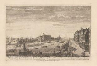 "Sayer: Amsterdam. 1774. An original antique copper engraving. 18"" x 12"". [NETHp186]"