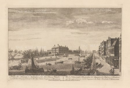 "Sayer: Amsterdam. 1774. An original antique copper engraving. 18"" x 12"". [NETHp186]"