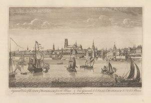 "Sayer: Rotterdam. 1774. An original antique copper engraving. 18"" x 12"". [NETHp187]"
