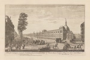 "Sayer: Rotterdam. 1774. An original antique copper engraving. 18"" x 12"". [NETHp188]"
