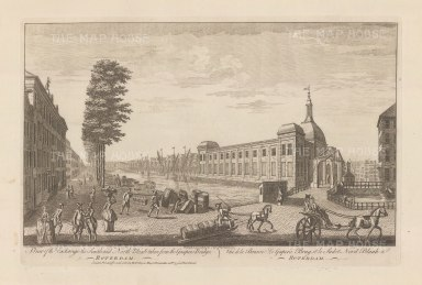 "Sayer: Rotterdam. 1774. An original antique copper engraving. 18"" x 12"". [NETHp188]"