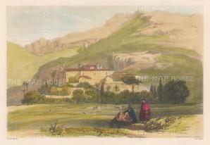 View of Convent of the Angels (Convento los Angeles y de la Huerta).