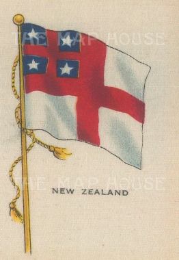 Flag of the United Tribes of New Zealand.