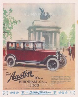 Austin: Burnham Saloon in front of Marble Arch.