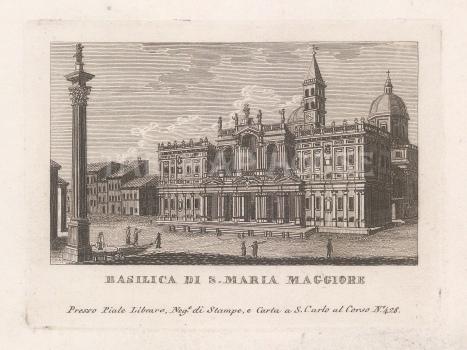 Basilica di San Maria Maggiore: With the Colonna della Pace, the only remaining column of the Basilica of Maxentius and Constantine.
