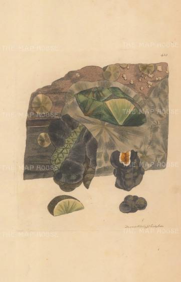 Argilla hydrata. Hydragillite from Spring Hill, Tracton Abbey, Ireland.