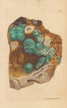 Zincum carbonatum. Carbonate of zinc from the Matlock, Rutland mine.