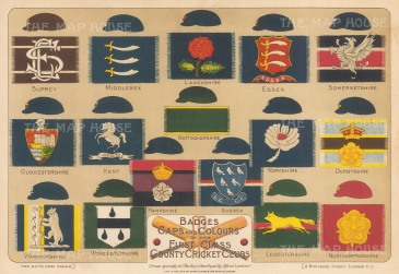 Colours and Caps: First Class Country Cricket Clubs.
