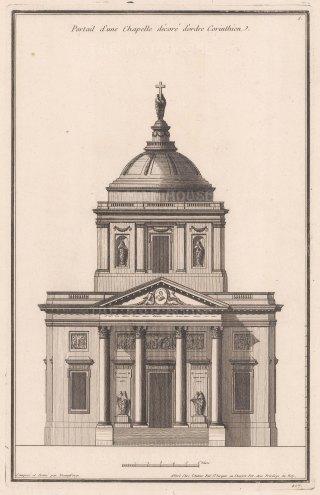 Corinthian Order: Chapel exterior.