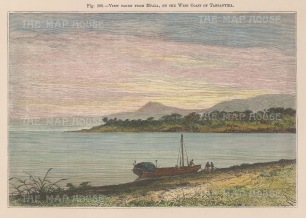 View from the western shore at Mpala.