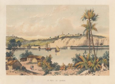 View of St Paul de Loanda.