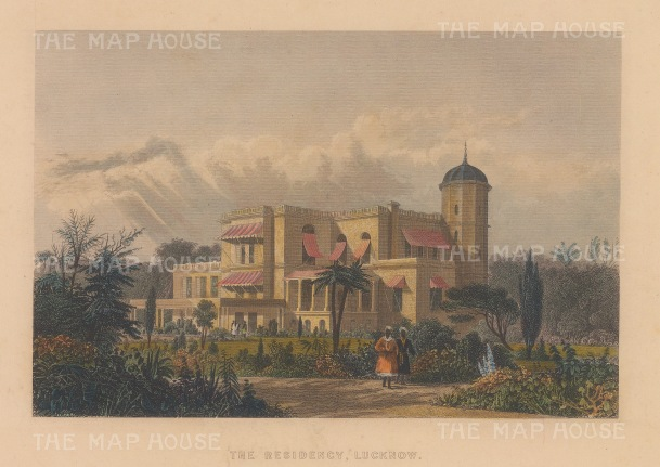 Lucknow: The British Residency.