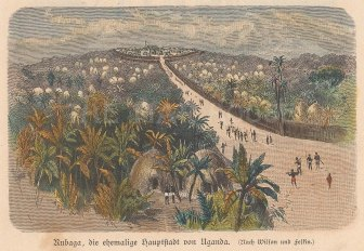 View of Rubaga from a distance.