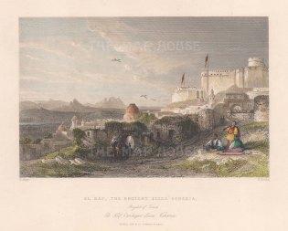 Beylek of Tunis. El Kaf, the ancient Sicca Veneria.