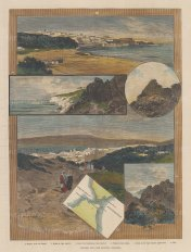 Morocco: Views of Tangier and Cape Spartel.