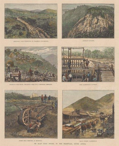 The De Kaap Gold Fields, in the Transvaal.