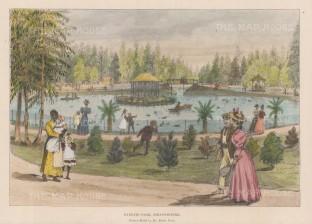 Barnato Park on Berea Avenue. The grounds of Joel House.