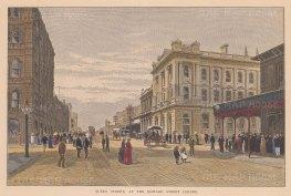 Brisbane: View of Queen Street at the Edward Street Corner.