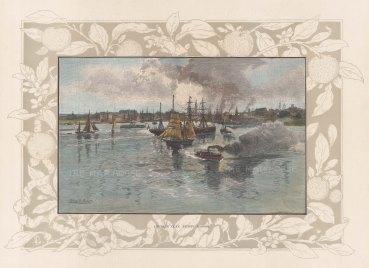 Sydney Harbour: View of Circular Quays.