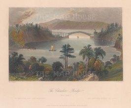 Chaudiere Bridge, near Quebec.