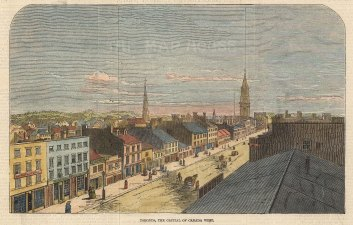 Panorama of the main street.